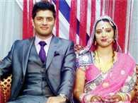 Arjun and Vandana cremated on same last rite