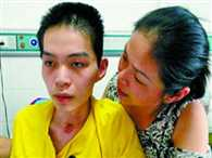 Son wakes from 198 days in coma after mum sang to him when medics gave up