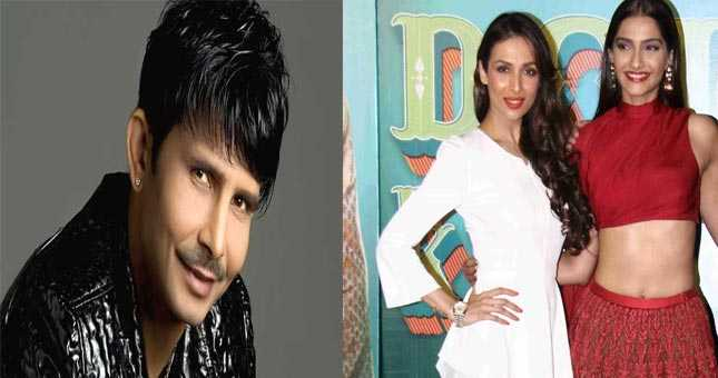 KRK calls Malaika 'an old lady', criticises Sonam's acting skills