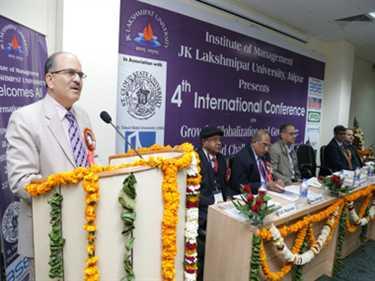 JK Lakshmipat University Jaipur organized 4th International Conference
