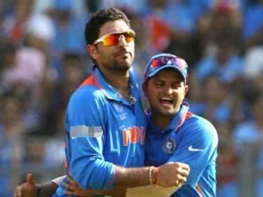 Image result for raina aur yuvraj