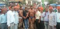 नूरपुर के सोनू ने जीती जमानाबाद मेले की माली