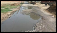 सरदूलगढ़ की सड़कों के गड्ढे दे रहे हादसे को न्योता
