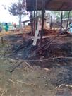 आगलगी से दो परिवारों के घर जले