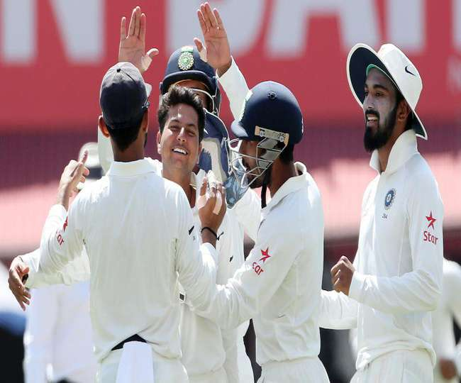 India vs Australia first day of fourth test in Dharamshalai