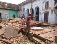 One Temple And Mosque Damaged In Earthquake