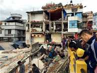 approx five hundread people dead in Nepal due to earthquake, NDRF's team depart from India