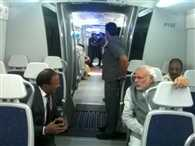 Narendra Modi travels in Delhi metro, tweets photograph