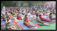 मन को साधने का अस्त्र है योग : सुनीता