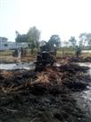 आग से राख हुए 17 घर, खलिहान व ट्रैक्टर