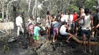 पांच गांव के 100 आशियाने जलकर राख