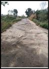सात साल पूर्व बनी सड़क बदहाल
