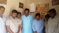 भजनपुरा में सुकमा नक्सली हमले में शहीद जवानों को दी गई श्रद्धांजलि
