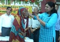 झील कुरंजा में 150 लोगों ने लिया स्वास्थ्य शिविर का लाभ
