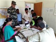कागजी प्रक्रिया पूरी करने में जुटे रहे पुलिस प्रशासन