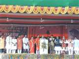 रायपुर पहुंचे राजनाथ सिंह ने कहा- सुकमा हमला सोची समझी हत्या