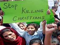 Mob storms Christian colony in Pak, attempts to torch Church