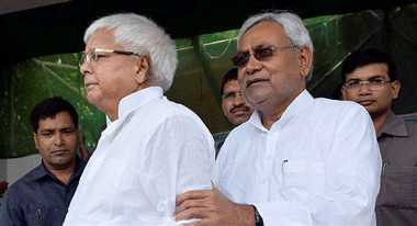 The development have suffer due to conflicts of Lalu and Nitish