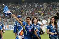 Mumbai Indians celebrated victory