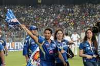Mumbai Indians celebrated victory