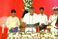 Thiruvananthapuram: LDF's Pinarayi Vijayan takes oath as the CM of Kerala