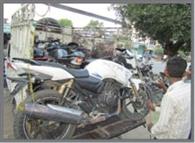 कानपुर स्वाट टीम ने बरामद की सात बाइक