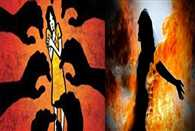 fourteen year old girl gang raped by three youths then set ablaze