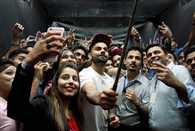 Kohli goes candid with his fans