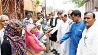 कांग्रेसियों ने बांटी ईद की 'खुशी'