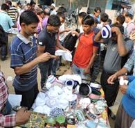 ईद के स्वागत की तैयारियां बाजार में उत्साह