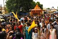 जय जगन्नाथ के नारों के साथ निकली भगवान की रथयात्रा