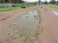 रेल क्षेत्र में जल जमाव की समस्या जारी