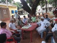 ईद को लेकर शांति समिति की बैठक