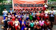 रोलर स्पोर्ट्स चैंपियनशिप में जिले के खिलाड़ियों ने झटके 86 पदक