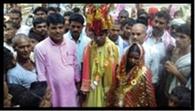 ग्रामीणों ने प्रेमी युगल की कराई शादी