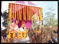 बोरियो में निकली भगवान जगन्नाथ की रथयात्रा