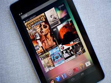Nexus 7 tablet launched