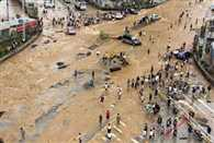 more than two lakh people is affected by flood in china