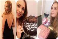 Iulia Vantur celebrates birthday with Salman Khan family