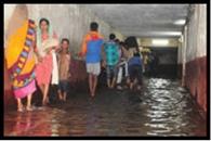 झमाझम बारिश से लोगों के खिले चेहरे