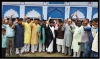 शिया समुदाय ने किया प्रदर्शन