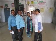 स्वास्थ्य विभाग की टीम ने किया निरीक्षण