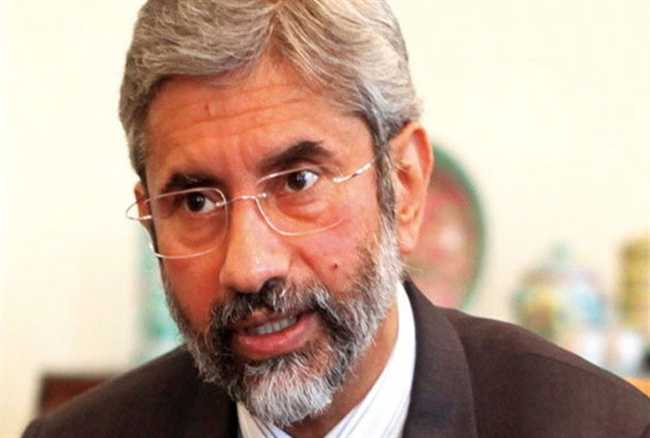 Foreign Secy S Jaishankar responds to his Pakistan counterpart, says talk would be on cross border