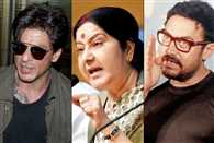 Did Sushma Swaraj taunt Shah Rukh Khan and Aamir Khan for opting for surrogacy?
