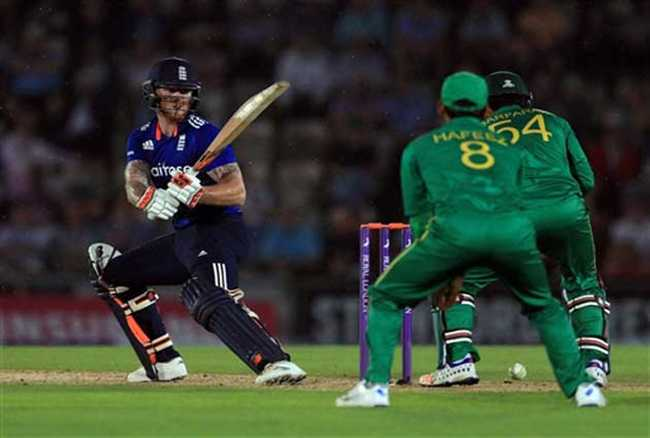 England wash out Pakistan in rain effected ODI
