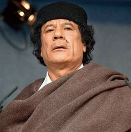 Sex hungry Gaddafi kidnapped schoolgirls for slavery