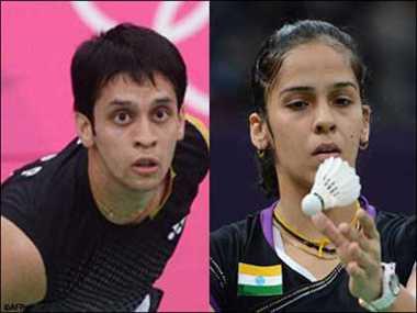 Saina into quarters while Kashyap sail into pre quarters of Asiad badminton