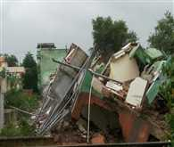 House collapses in Chhatarpur district of Madhya Pradesh