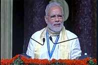 PM Modi addressing nationl executive meeting in Kozhikode