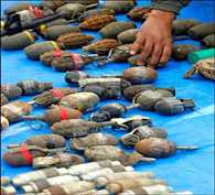 800 bomb recovered from health centre in west bengal